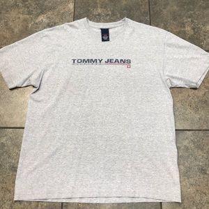 VTG Tommy Hilfiger Jeans S/S T-Shirt Size Large